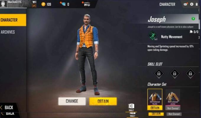 TOP Free Fire characters should not spend money to buy