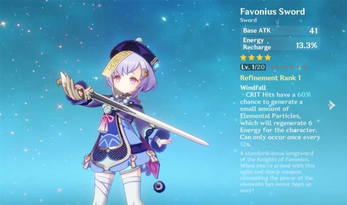 Рейтинг лучших мечей в Genshin Impact