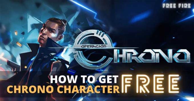 Free Fire: چگونه می توان Chrono را فقط با 100 الماس در اختیار داشت