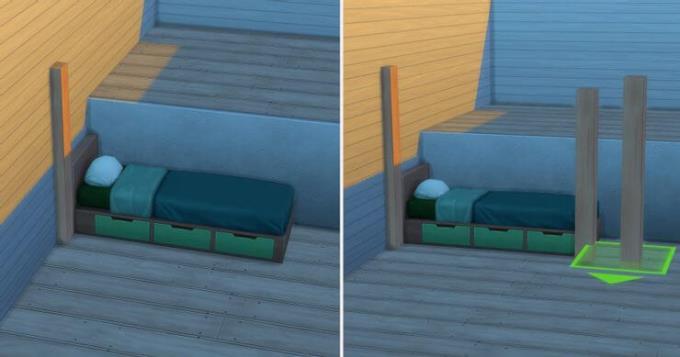 سیمز 4: راهنمای گام به گام ایجاد تختخواب سفری