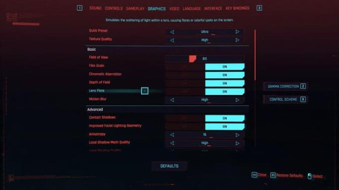 How to optimize Cyberpunk 2077 to improve frame rate