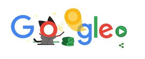 The popular Google Doodle Doodle game