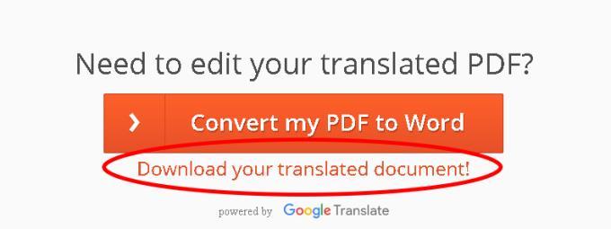 소프트웨어 없이 다국어 PDF 문서를 번역하기 위한 지침