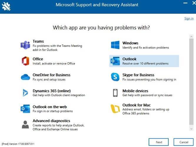 نحوه رفع خطاهای رایج در Microsoft Outlook