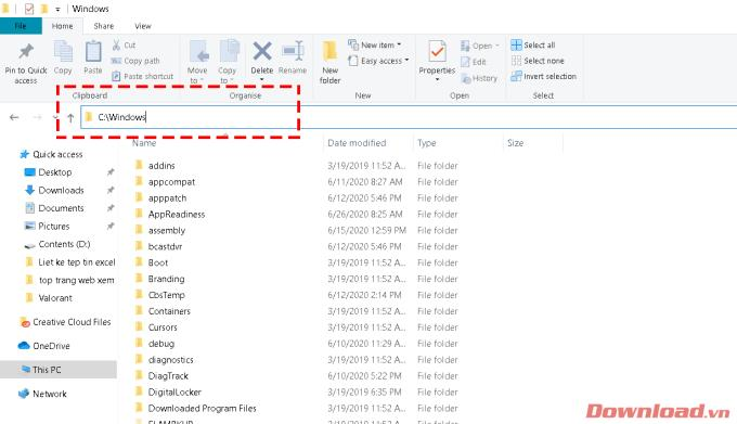Instructions for listing files into Excel files