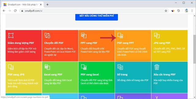 온라인에서 PDF를 PowerPoint로 변환하는 방법