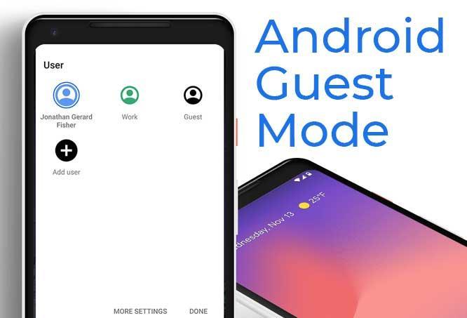 Android에서 게스트 모드를 설정하는 방법