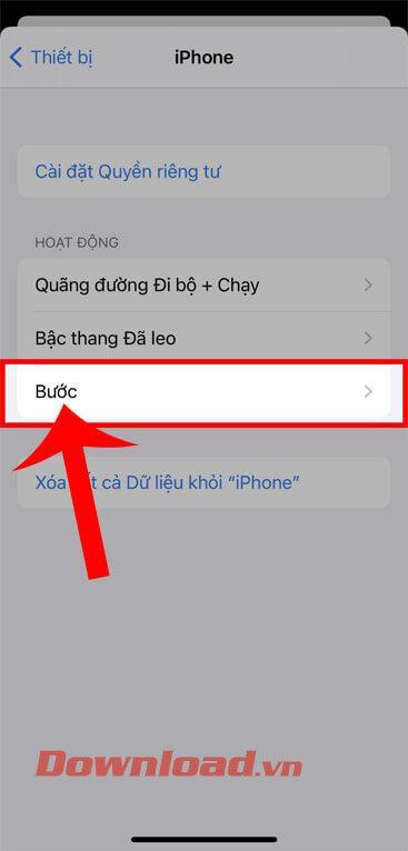 Инструкции по отключению функции подсчета шагов на iPhone