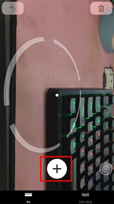 iPhone에서 거리 측정 도구 사용 지침