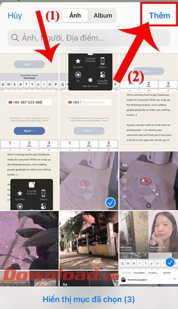 iPhone에서 사진의 일괄 크기 조정 지침