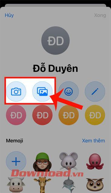 دستورالعمل تغییر صفحه تماس در iPhone