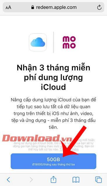 دستورالعمل برای دریافت 9 ماه 50 گیگابایت فضای ذخیره سازی رایگان iCloud