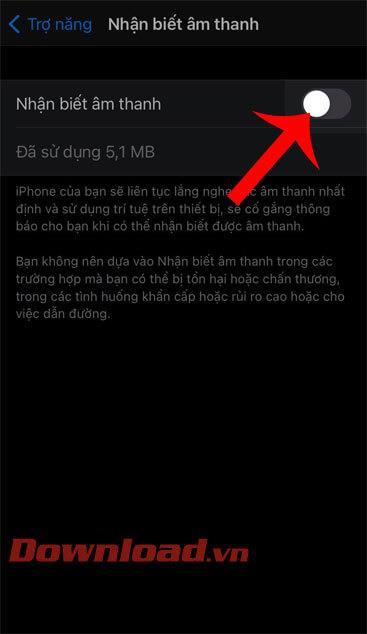 دستورالعمل های فعال کردن ویژگی تشخیص صدا در iOS 14