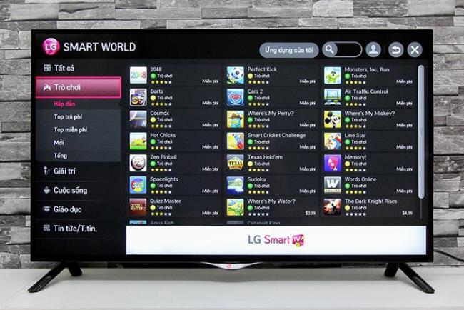 كيفية تنزيل تطبيقات LG TV