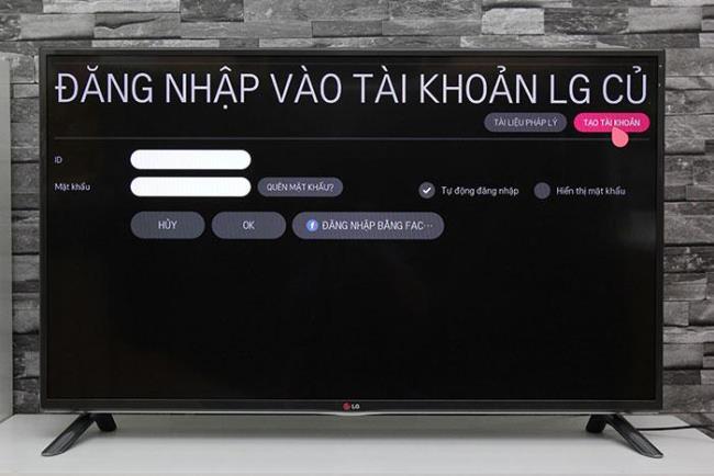 LGTVアカウントを作成する方法