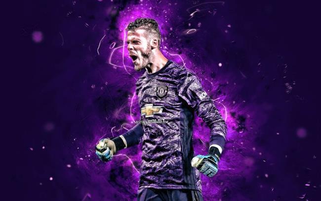 Mensintesiskan gambar penjaga gol terindah David De Gea