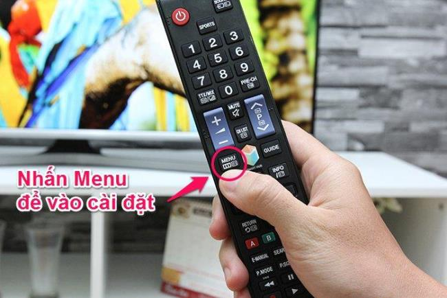 How to connect to a Samsung J5500 TV network