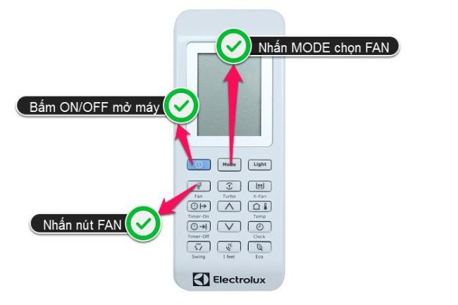 Verwendung einer Electrolux-Klimaanlage