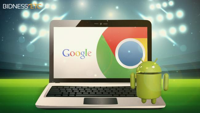 Android OS and Chrome OS are about to merge