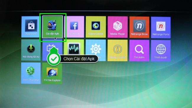 So laden Sie externe Apps mit einer APK-Datei auf Smart TV Skyworth herunter (Teil 2)