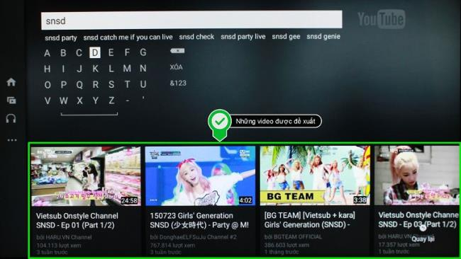 How to use Youtube application on Smart TV LG NetCast operating system