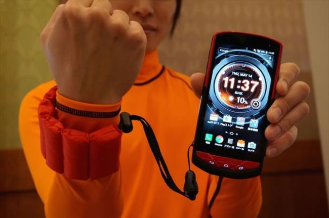 Kyocera Torque G02, smartphone tahan air pertama di dunia