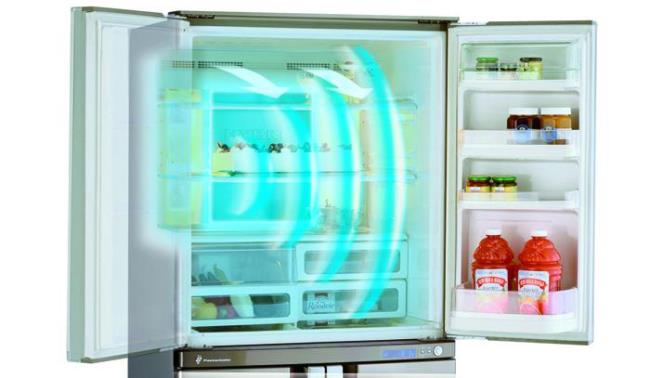 Refrigeration technology on the Sanyo refrigerator