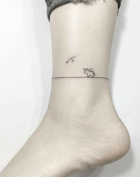 Mensintesiskan contoh tatu goyang kaki yang indah terkini hari ini