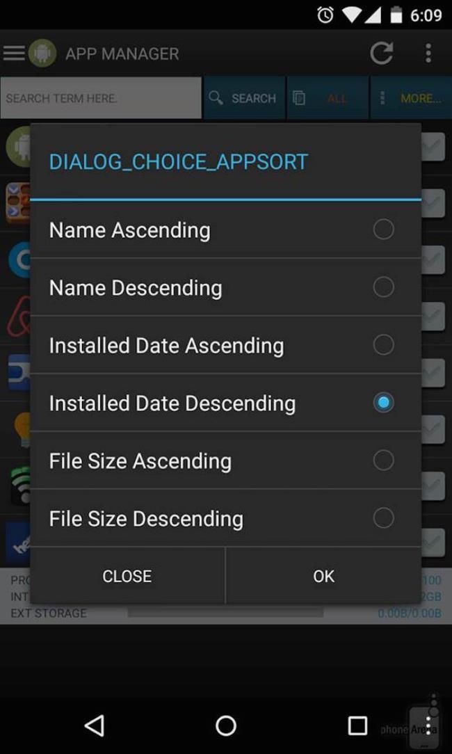 Androidでインストール日でアプリを並べ替える方法は?