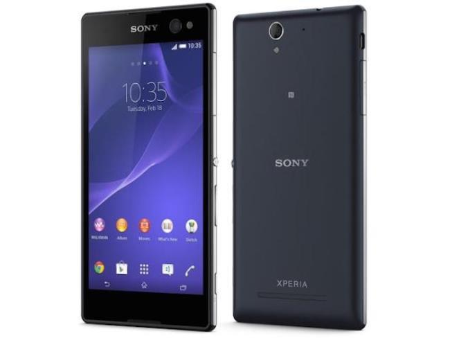Sony akan meluncurkan penerus smartphone Xperia C3