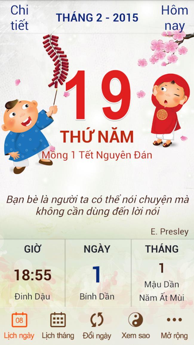 Aplikasi kalendar berkekalan terbaik untuk melihat hari tahun baru