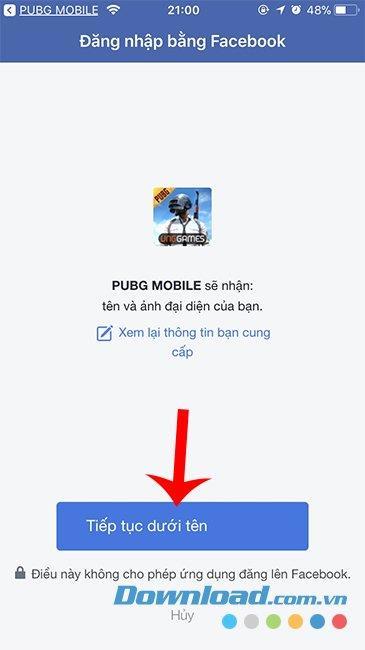 PUBG Mobile account to PUBG Mobile VN