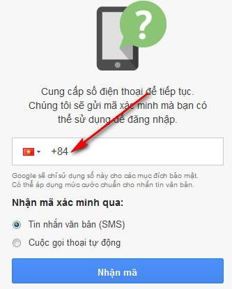 Create a Gmail account on BlueStacks