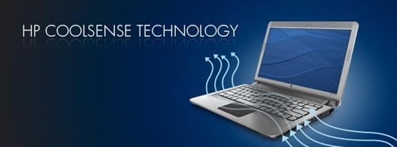 تقنية HP Coolsense