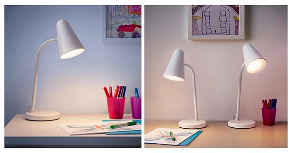 Pengalaman memilih lampu meja yang aman untuk mata anak