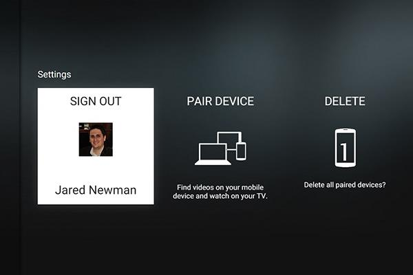 How to login YouTube account on Smart TV