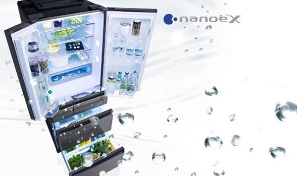 6-door refrigerator Panasonic - 7 days fresh