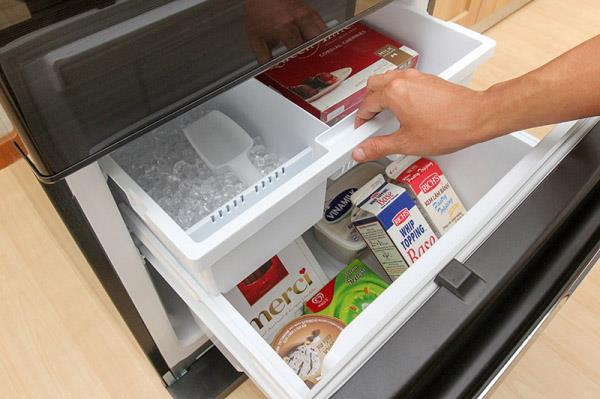 How often does it take to clean the freezer compartment in the refrigerator?
