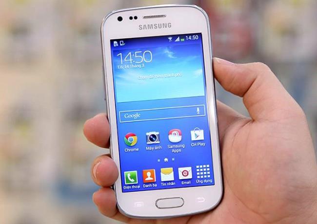 این Samsung Galaxy Trend Plus با به روزرسانی نرم افزار است