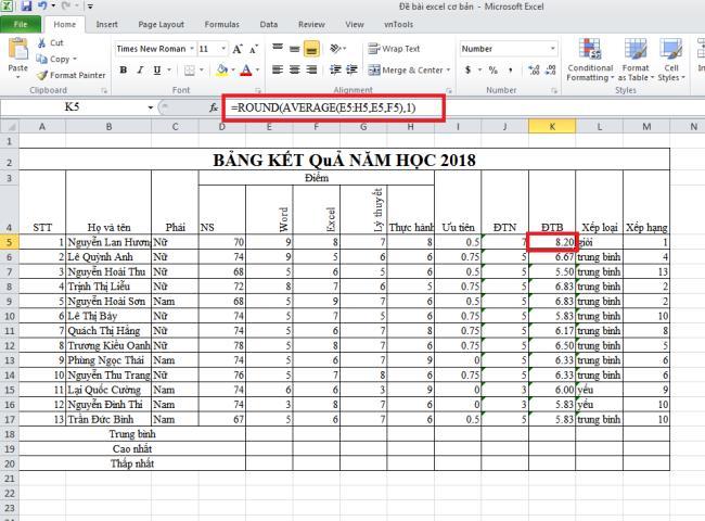7 نحوه گرد کردن اعداد در Excel با توابع Round ، Roundup