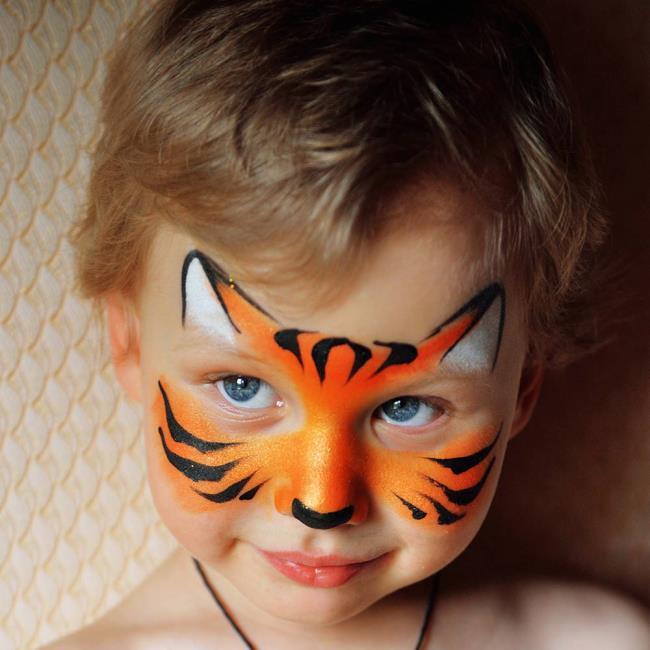 Carnival makeup: 100 beautiful photos and ideas