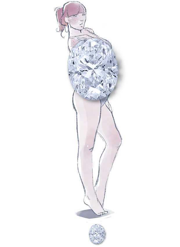 Katakan padaku tubuh seperti apa yang kamu miliki dan aku akan memberitahumu apa itu Berlian!