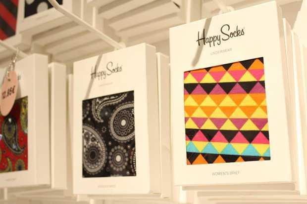 Happy Socks, Socken Kollektion und Pop Up Store