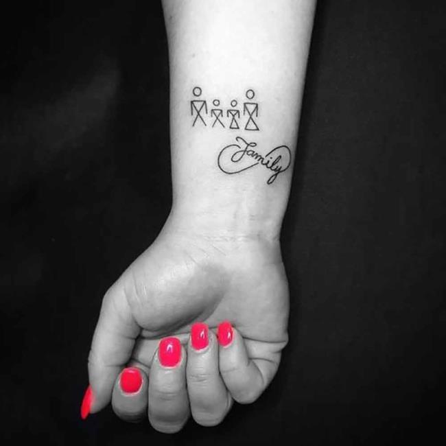 Family Tattoo: 200 صورة وأفكار جميلة تلهمك