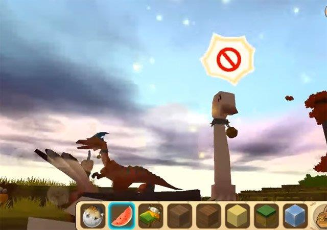 How to tame the mounts in Mini World: Block Art