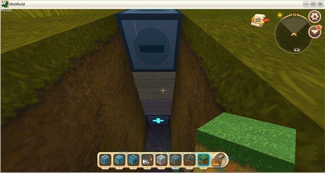 كيفية صنع أبواب أوتوماتيكية في Mini World: Block Art