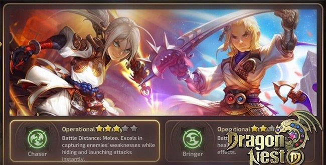 كيفية اختيار شخصية للعب Dragon Nest Mobile
