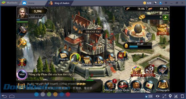 Anweisungen zum Installieren und Spielen von King Of Avalon auf dem Computer