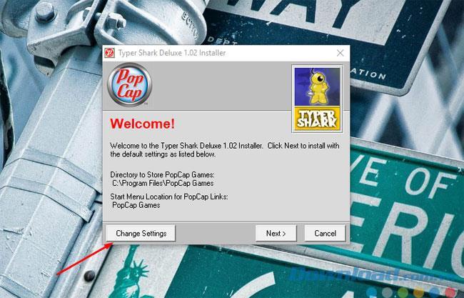 تعليمات تنزيل وتثبيت Typer Shark Deluxe على جهاز الكمبيوتر الخاص بك