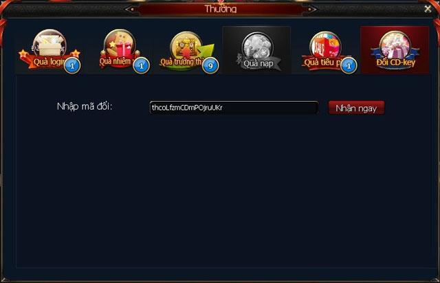 تعليمات لإدخال Giftcode Legend Moba